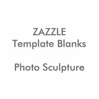 Personalisierte Foto-Skulptur-Knopf-Raum-Schablone Fotoskulptur Button
