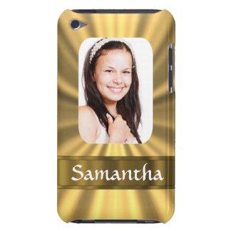 Personalisierte Fotoschablone des Goldblickes iPod Touch Case-Mate Hülle