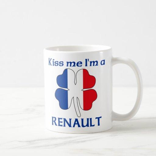 Personalisierte Franzosen küssen mich, den ich Ren Kaffeetassen