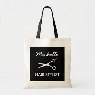 Personalisierte Friseur-Taschentasche für Budget Stoffbeutel