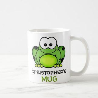 Personalisierte Frosch-Tasse