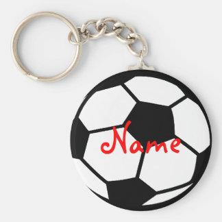 Personalisierte Fußball keychains | addieren Ihren Standard Runder Schlüsselanhänger