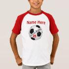 Personalisierte FußballJerseys für Kinder, NAME, T-Shirt