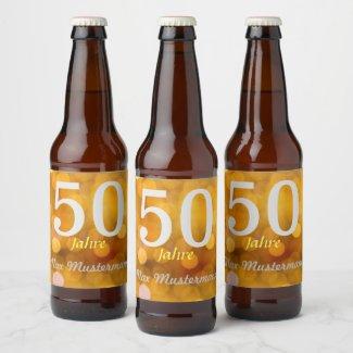 personalisierte Geburtstag bierflaschen etiketten