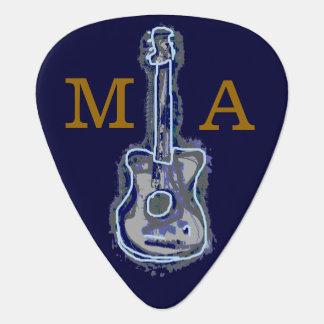 personalisierte Gitarren-Blues Plektron