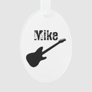 Personalisierte Gitarren-Verzierung Ornament