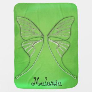 Personalisierte Glasluna-Motten-Flügel Puckdecke