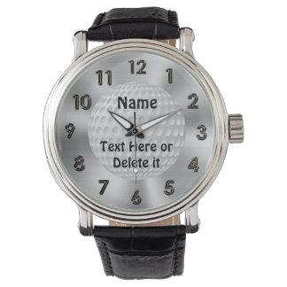Personalisierte Golf-Uhren für Männer und Frauen Uhren