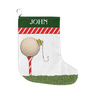 Personalisierte Golf-Weihnachtsgeschenke Großer Weihnachtsstrumpf