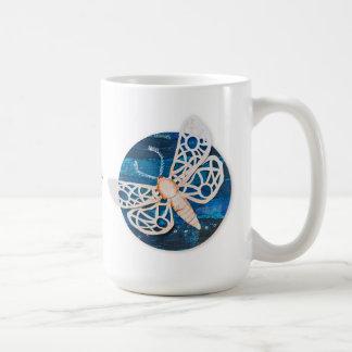 Personalisierte große Tasse mit Nachtmotten