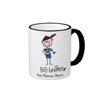 Personalisierte großer Bruder-T-Shirts und Geschen Kaffee Haferl