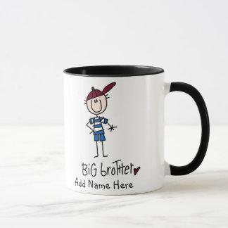 Personalisierte großer Bruder-T-Shirts und Tasse