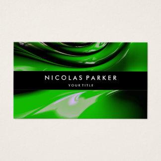 Personalisierte grüne Auto-Farben-modernes Visitenkarte