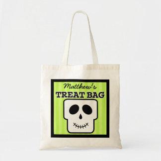 Personalisierte Halloween-Leckerei-Tasche Tragetasche