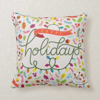 Personalisierte helle Feiertags-dekoratives Kissen