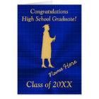 Personalisierte Highschool Abschluss-Karten für Karte