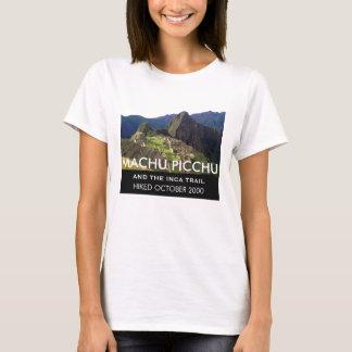 Personalisierte Inka-Spur Machu Picchu Gedenk T-Shirt