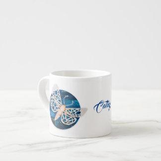 Personalisierte Kaffee-Tasse mit Nachtmotten Espressotasse