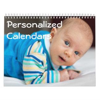 Personalisierte Kalender (Januar-Dezember)
