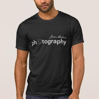 Personalisierte Kameraobjektiv-Fotografie T-Shirt