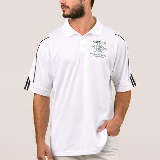 Personalisierte Kapitän-Crew Kapitän-erster Polo Shirt