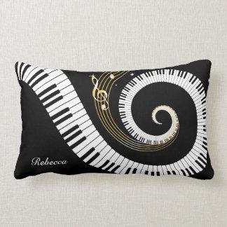 Personalisierte Klavier-Schlüssel und Kissen