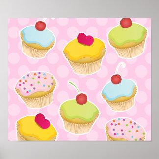 Personalisierte kleine Kuchen Poster