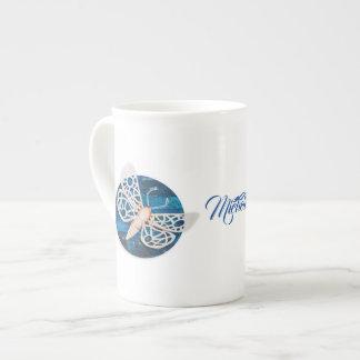 Personalisierte Knochen-China-Tasse mit Porzellantasse