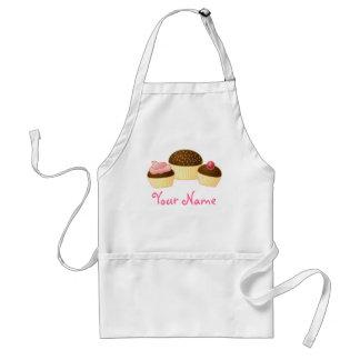 Personalisierte Kuchen-Schürze-Damen