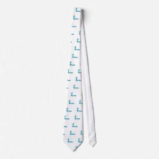 Personalisierte kundenspezifische Zahl Krawatte
