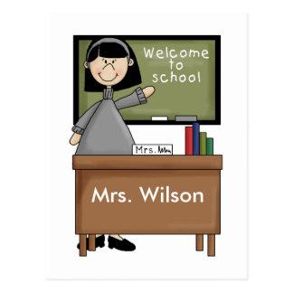 Personalisierte Lehrer-Geschenke Postkarten