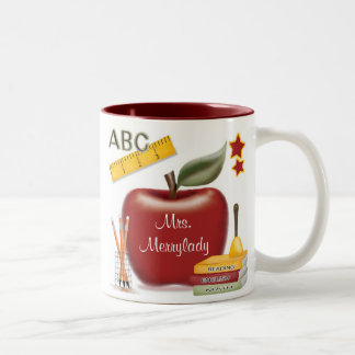 Personalisierte Lehrer-Tasse