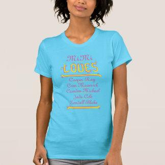 PERSONALISIERTE LIEBEN MiMi ihre Enkelkinder T-Shirt