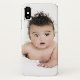 Personalisierte LieblingsFoto-Schablone iPhone X Hülle