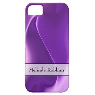 Personalisierte lila Flamme abstrakt Schutzhülle Fürs iPhone 5