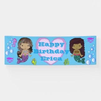 Personalisierte Meerjungfrau-Themed alles- Gute Banner