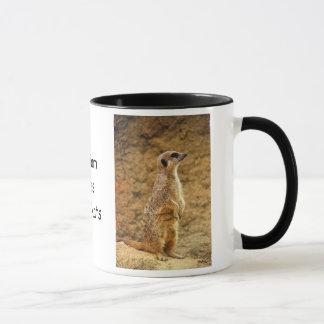 Personalisierte Meerkat Tasse