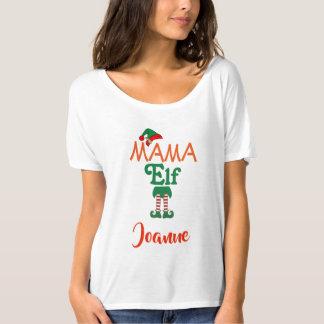 Personalisierte MUTTER Elf T-Shirt