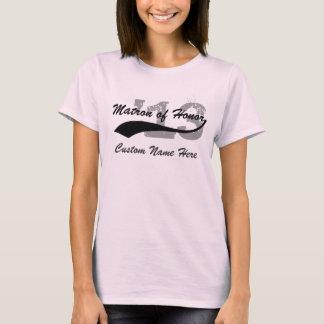 Personalisierte Namen-u. Jahr-Matrone des T-Shirt