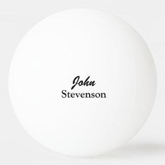 Personalisierte Namensping pong Bälle für Tischten Tischtennis Ball