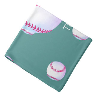 "Personalisierte ""Neigungs-perfekter Baseball "" Halstuch"