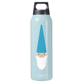 Personalisierte niedliche blaue isolierte flasche
