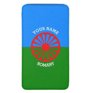 Personalisierte offizielle Romany-Sinti und Galaxy S5 Tasche