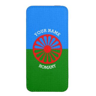 Personalisierte offizielle Romany-Sinti und iPhone Tasche