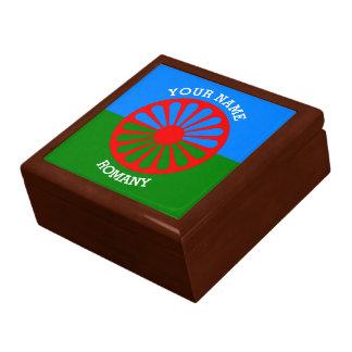 Personalisierte offizielle Romany-Sinti und Geschenkboxen