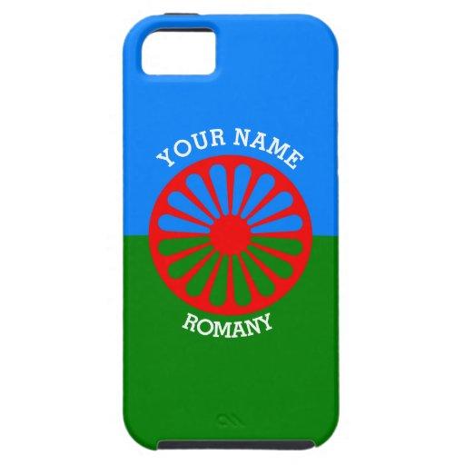 Personalisierte offizielle Romany-Sinti und iPhone 5 Etuis