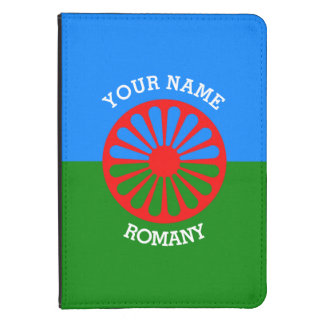 Personalisierte offizielle Romany-Sinti und Kindle 4 Hülle