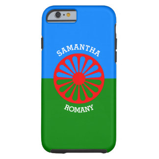 Personalisierte offizielle Romany-Sinti und Tough iPhone 6 Hülle