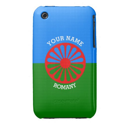 Personalisierte offizielle Romany-Sinti und iPhone 3 Covers