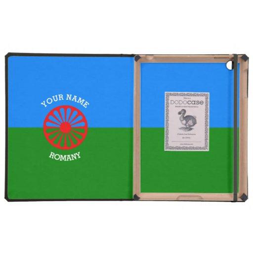 Personalisierte offizielle Romany-Sinti und iPad Schutzhülle